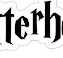 Potterhead black Sticker