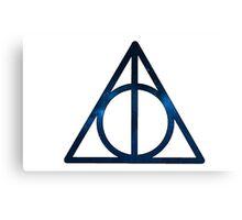 Deathly Hallows Harry Potter Canvas Print