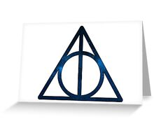 Deathly Hallows Harry Potter Greeting Card
