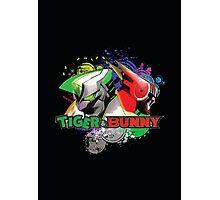 Tiger and bunny helmet Photographic Print
