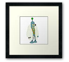 Bender - Futurama Framed Print