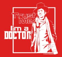 Trust Me, I'm a Doctor (white ver.) Kids Clothes