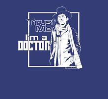 Trust Me, I'm a Doctor (white ver.) Womens Fitted T-Shirt