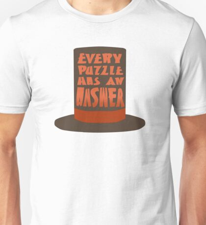 Every Puzzle Has An Answer Unisex T-Shirt