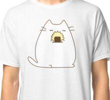 Cute Kawaii Rice Cat Classic T-Shirt
