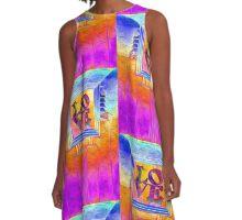 ART DECO LOVE  A-Line Dress