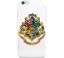 Hogwarts crest  iPhone Case/Skin