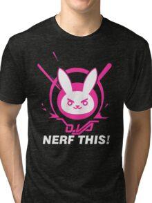 OVERWATCH DVA Tri-blend T-Shirt