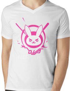 OVERWATCH DVA Mens V-Neck T-Shirt