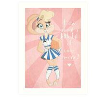Retro Lola Art Print