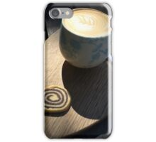 A Splendid way to spend a morning... iPhone Case/Skin