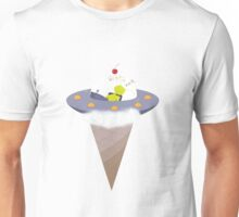 Spaceship Ice cream Unisex T-Shirt