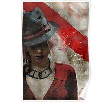 Clandestine - Grunge Urban Digital Art Poster