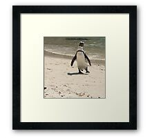 Coming at ya! Framed Print