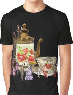 Victorian Coffee Graphic T-Shirt