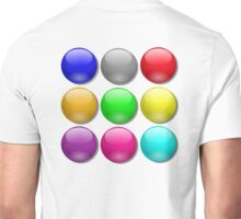 Balls, Coloured, Marbles, bright, colourful,  Unisex T-Shirt