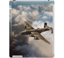 Handley Page Halifax above clouds iPad Case/Skin