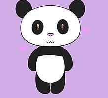 Chibi Panda by PonderingChibi