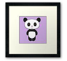 Chibi Panda Framed Print