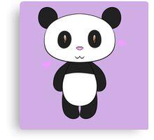 Chibi Panda Canvas Print
