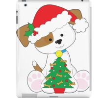 Cute Puppy Santa iPad Case/Skin