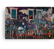 Stripping Away Time In New York Canvas Print