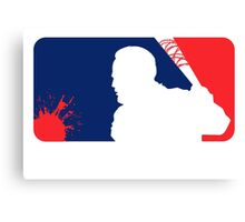 Major League Beating Canvas Print