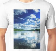 The Boat in the Bay Unisex T-Shirt