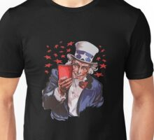 Uncle Sam Solo Cup T-Shirt - College Party Drinking Alcohol Unisex T-Shirt