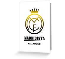 Real Madrid - Madridista Greeting Card