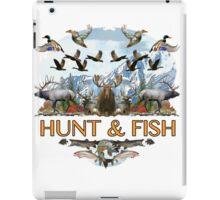 Hunt and fish iPad Case/Skin