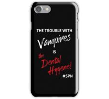 The Trouble with Vampires iPhone Case/Skin
