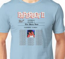 PAPERBOY 2 - GAME OVER SCREEN Unisex T-Shirt