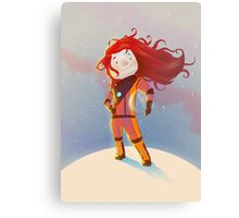 The Girl Wonder Canvas Print