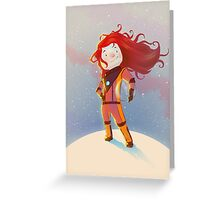 The Girl Wonder Greeting Card