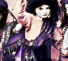 Three Gypsy Girls Sticker