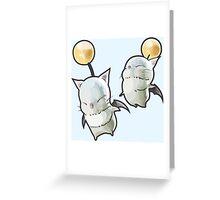 Moogle Brothers! Greeting Card