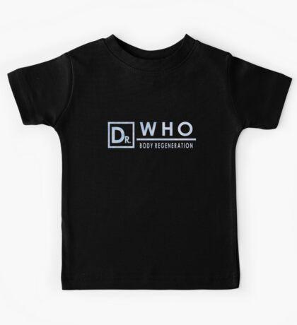 Doctor Who - Body Regeneration Kids Tee