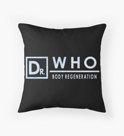 Doctor Who - Body Regeneration Throw Pillow