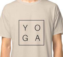 YOGA Black Vers. Classic T-Shirt