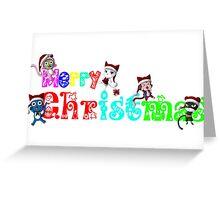 Fairy Tail Christmas Edition, Anime Greeting Card