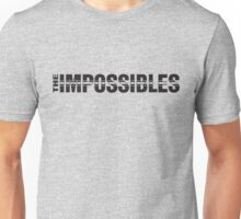 The Impossibles Logo - Black Unisex T-Shirt