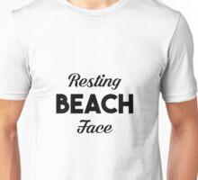 Resting Beach Face Unisex T-Shirt