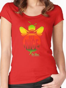 BEE NICE  Women's Fitted Scoop T-Shirt