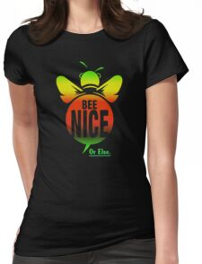 BEE NICE  Womens Fitted T-Shirt