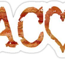 Bacon Love Strips Sticker