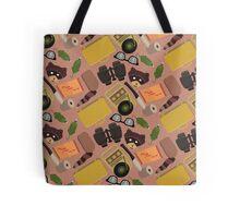 Moonrise Kingdom Pattern Tote Bag