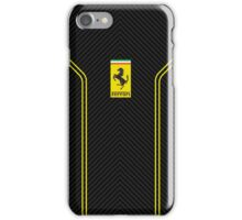 Ferrari carbon case  iPhone Case/Skin