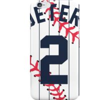 Derek Jeter Baseball Design iPhone Case/Skin