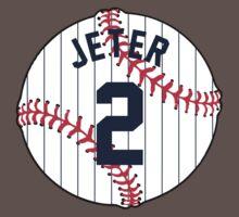 Derek Jeter Baseball Design Kids Clothes